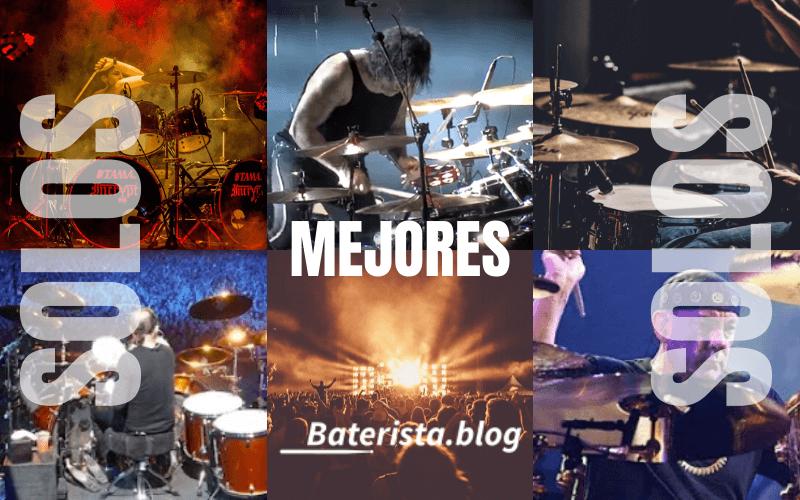 Artículo con los Mejores solos de bateria del mundo. Solos de los bateristas más reconocidos de la historia. Baterista.blog.