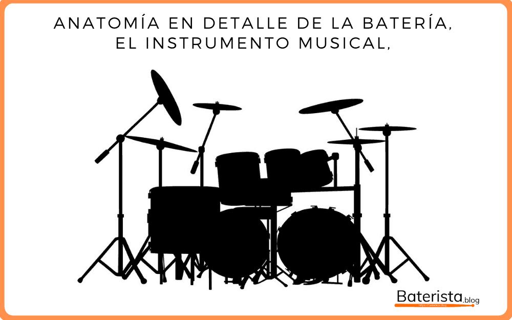 Anatomía de la batería (Instrumento musical).