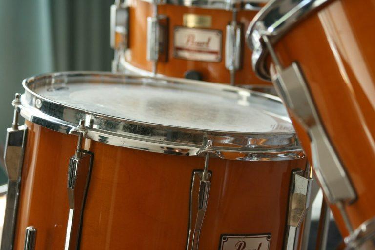 Partes de la Batería el instrumento musical: Tambores.